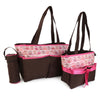 NewBorn Baby Bag 2 Pcs - Coffee Pink