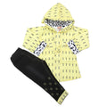 Girls Pant Suit - Yellow