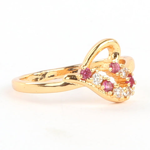 Girls Finger Ring - Red