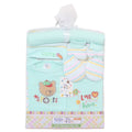 Newborn 8 Piece Blanket Gift Set - Cyan