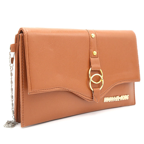 Women's Clutch Kam-2057 - Brown