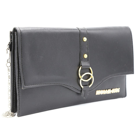 Women's Clutch Kam-2057 - Black