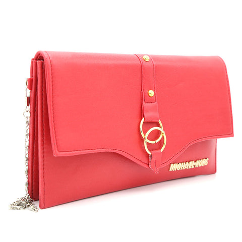 Women's Clutch Kam-2057 - Red