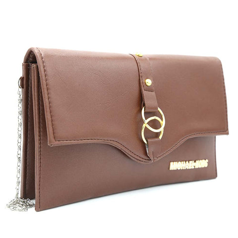 Women's Clutch Kam-2057 - Coffee