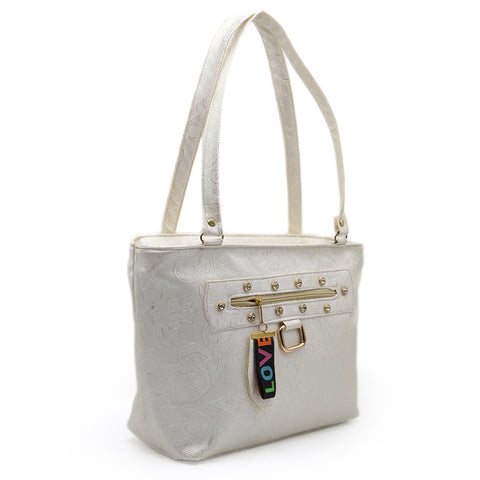 Women's Shoulder Bag 7585 - Off White