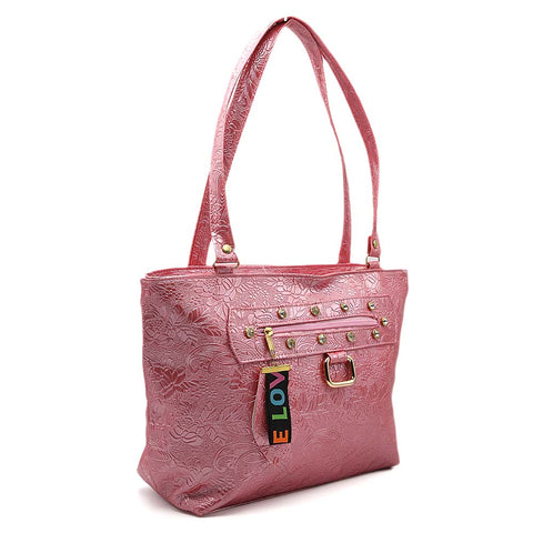Women's Shoulder Bag 7585 - Pink
