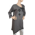Women's Denim Kurti - Grey