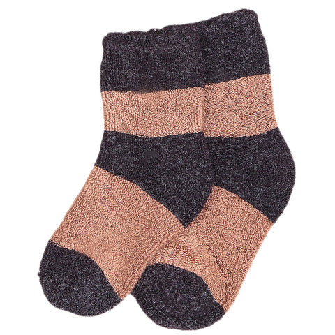 Kids Socks - Brown