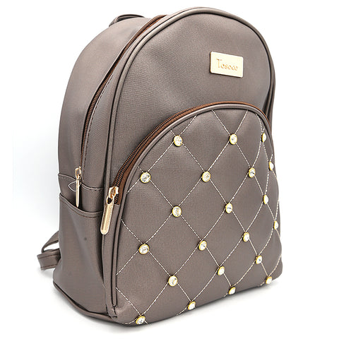 Women's Backpack 7575 - Coffee