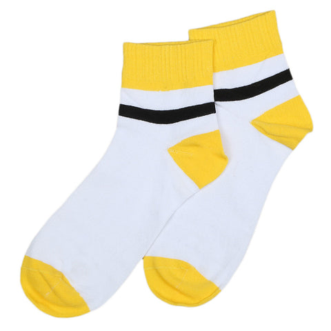 Men's Sports Socks - Yellow