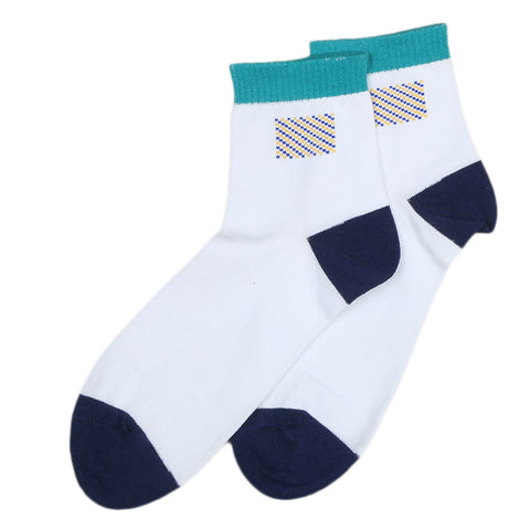 Men's Sports Socks - Sea Green