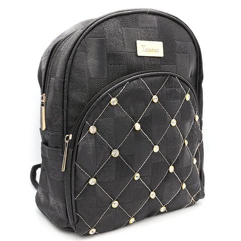 Women's Backpack 7575 - Black
