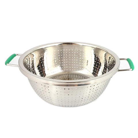 Stainless Steel Rice and Fruit Stainer - Silver