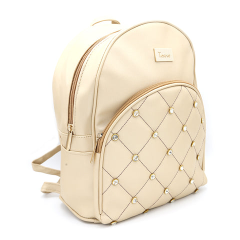 Women's Backpack 7575 - Golden