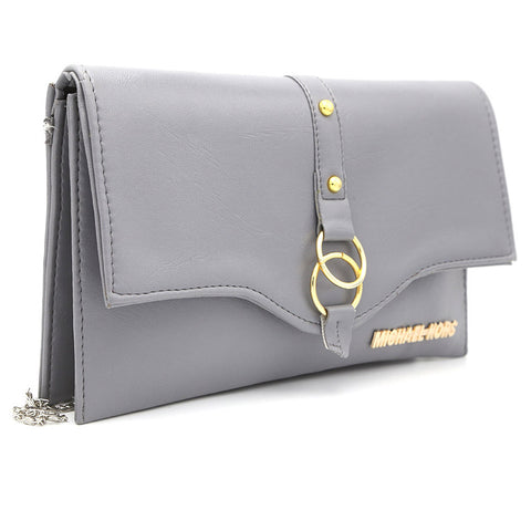 Women's Clutch Kam-2057 - Grey