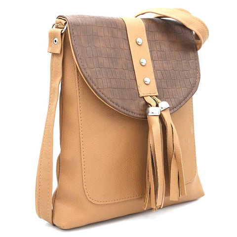 Women's Shoulder Bag ZH-46 - Brown