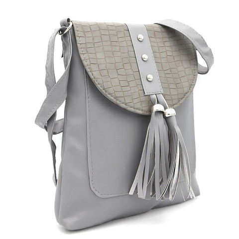 Women's Shoulder Bag ZH-46 - Grey