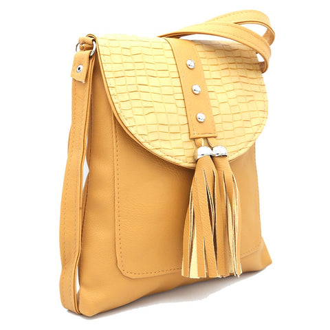 Women's Shoulder Bag ZH-46 - Camel