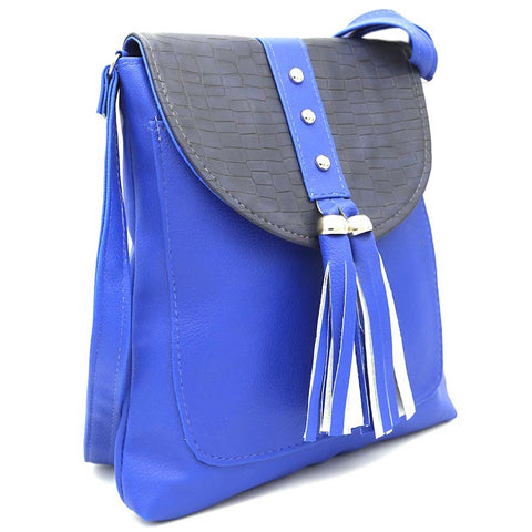 Women's Shoulder Bag ZH-46 - Royal Blue