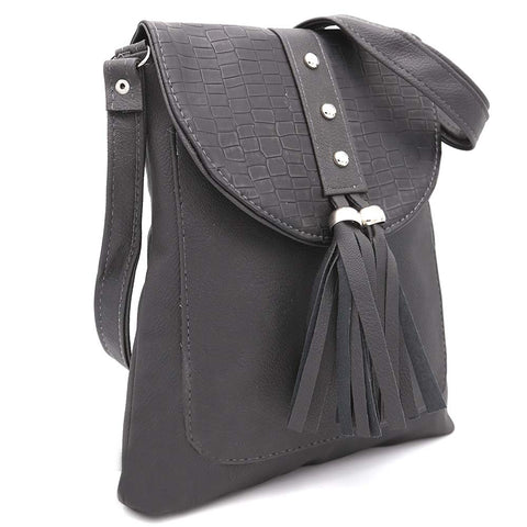 Women's Shoulder Bag ZH-46 - Black