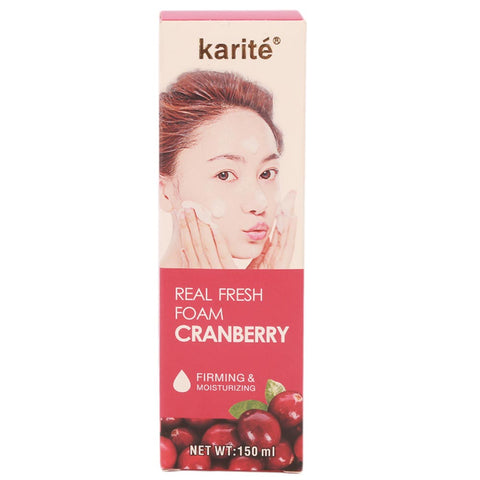 Karite Real Fresh Firming & Moisturizing Foam 2142-47CV 150ml