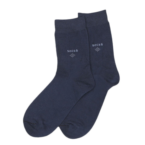 Men's Socks - Steel Blue