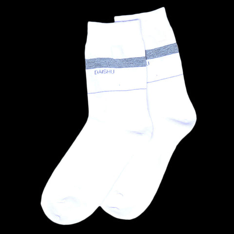 Men's Socks - White