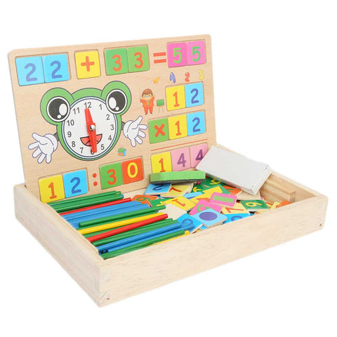 Wooden Multi functional Operation Learning Box