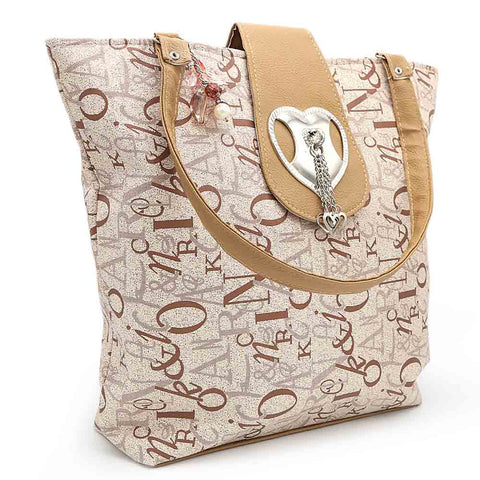 Women's Handbag (2962) - Beige