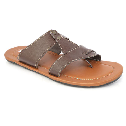 Men's Casual Slippers - Brown