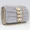 Women's Fancy Clutch 6790 - Grey