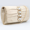 Women's Fancy Clutch 6790 - Beige