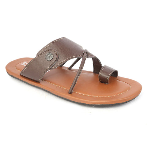 Boys Slippers- Brown
