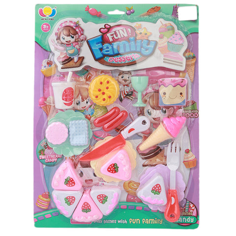 Colorful Dessert Toys 12 Pcs - Multi