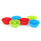 Silicone Jelly Cup Mold 6 Pcs - Multi - test-store-for-chase-value