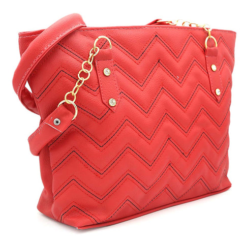 Women's Shoulder Bag ZH-51 - Red