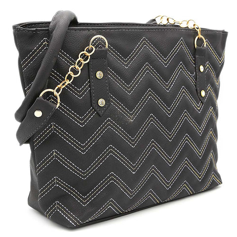 Women's Shoulder Bag ZH-51 - Black
