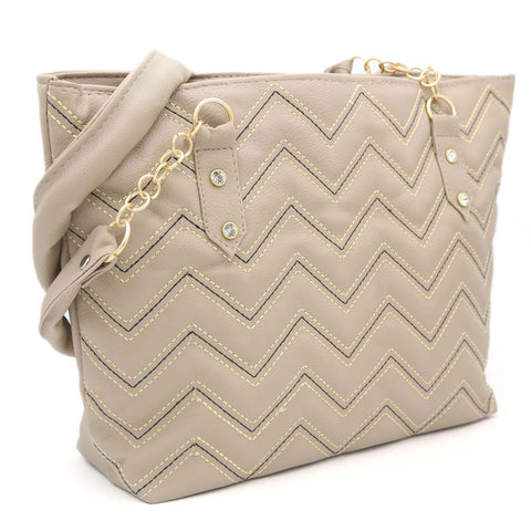 Women's Shoulder Bag ZH-51 - Beige