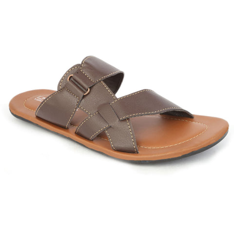 Boys Slippers - Brown