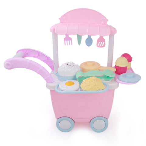 Doctor Medical Trolly - Pink