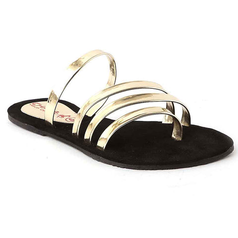 Women's Slipper (071) - Golden