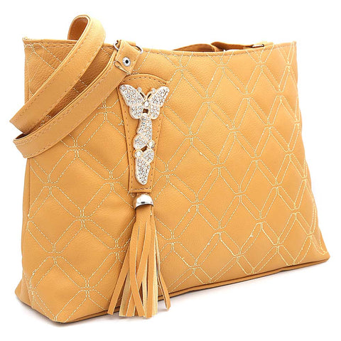 Women's Shoulder Bag ZH-48 - Camel