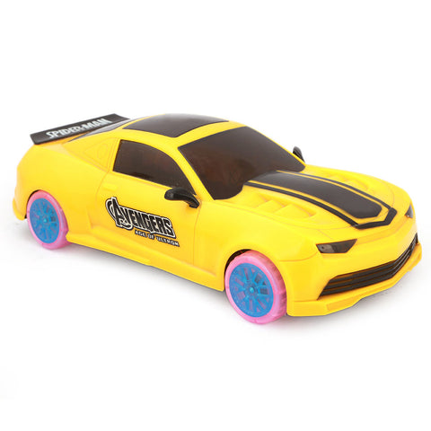 Avengers Sports Car - Yellow