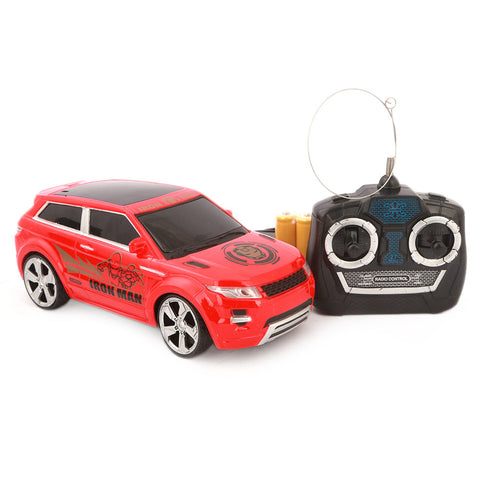 Super Heroes Remote Control Sports Car - Red