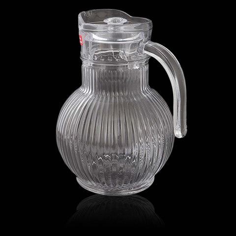 Glass Jug - White