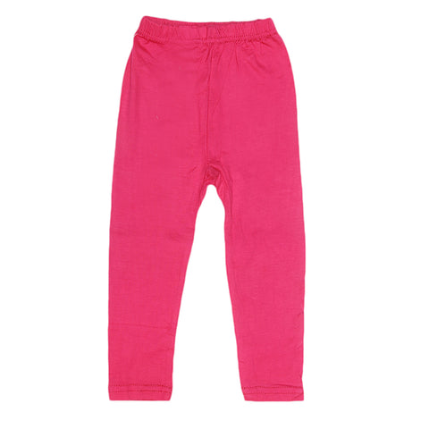 Girls Plain Tight - Dark Pink