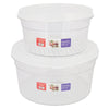 Storage Box 2 Piece Set - White