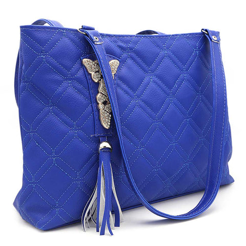 Women's Shoulder Bag ZH-48 - Royal Blue
