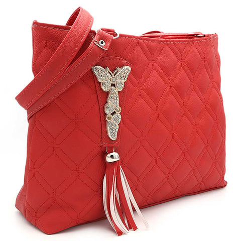 Women's Shoulder Bag ZH-48 - Red