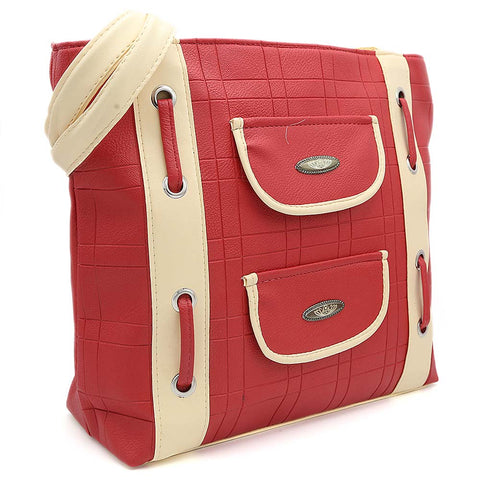 Women's Handbag (8653) - Red
